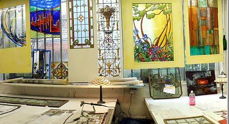 Maison du vitrail for Andrieux la maison du vitrail