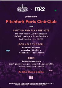 Le Pitchfork Music Festival Paris. Du 9 au 23 octobre 2014 à Paris19.
