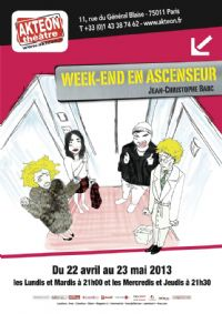 Week-end en ascenseur. Du 22 avril au 23 mai 2013 à Paris11.